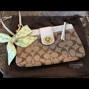 Coach Signature Clutch